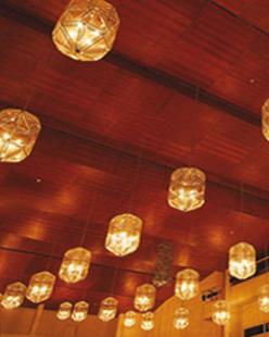 Lanternes à l'Auditorium de Manuel de Falla.