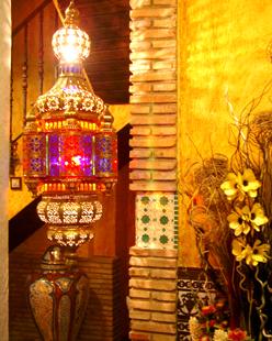 recepción hostal Lima de Granada .