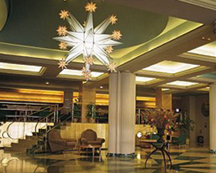 recepcion Hotel San Anton de Granada.