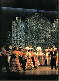 Sur la scène en tournée avec l'Anthologie de la Zarzuela