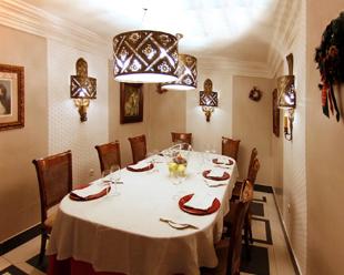 salón privado Restaurante Las Tinajas.